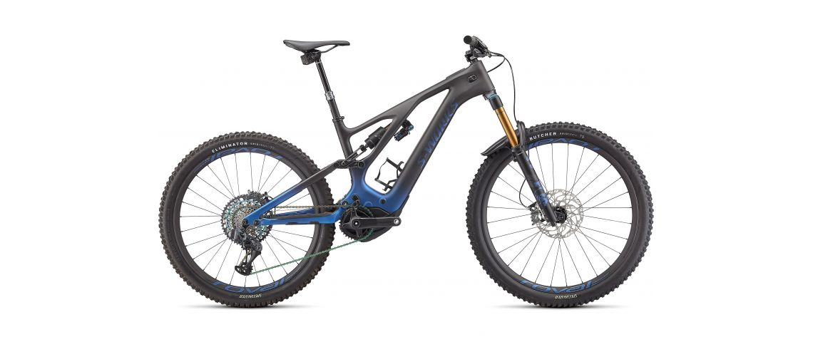 Levo Pro S-Works Carbon NB Blue Ghost Gravity Fade/Black/Light Silver