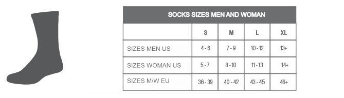 Specialized sock size